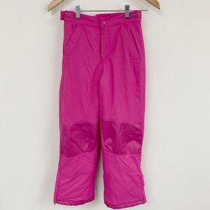 L.L bean thinsulate insulation pink snowpants